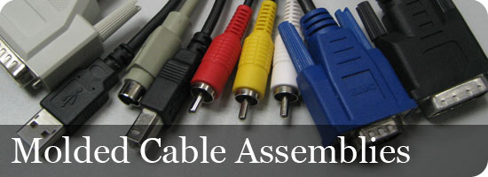 Molded Cable Assemblies : Molded cable assembly